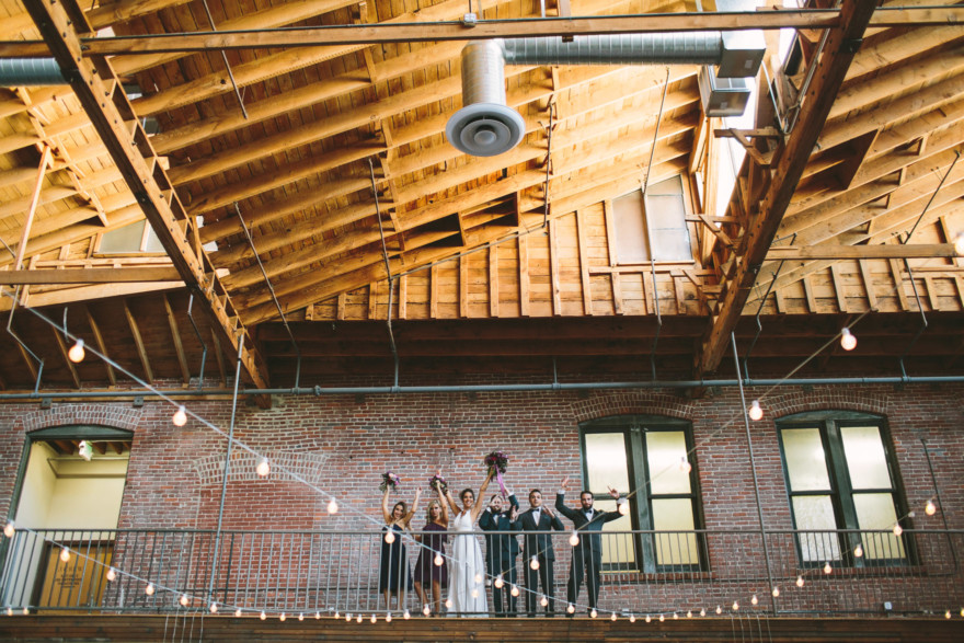 Big Fake Wedding LA at 440 Seaton – Photo by Let's Frolic Together