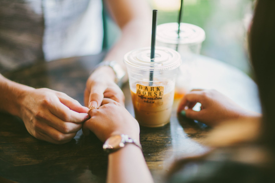 Coffee & Tender Trail Snuggling – Photo by Let's Frolic Together