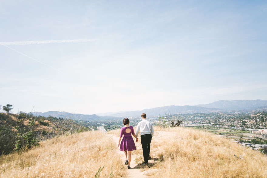 Swings and snuggling in the hilltops of LA – Photo by Let's Frolic Together