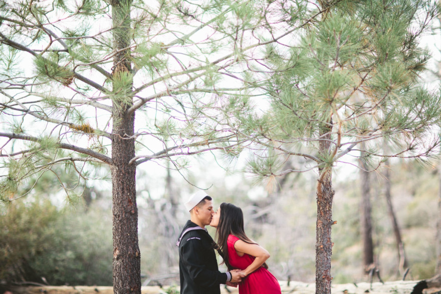 Cozy Cuddling in Mount Laguna – Photo by Let's Frolic Together