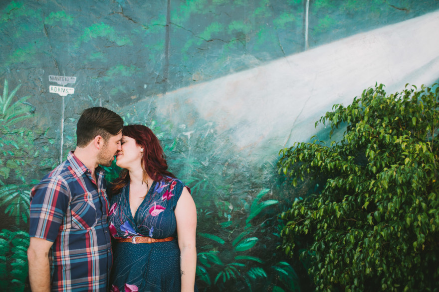 Kitschy Normal Heights Portraits – Photo by Let's Frolic Together