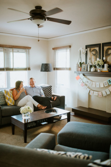 Playful At-Home Snugglefest – Photo by Let's Frolic Together