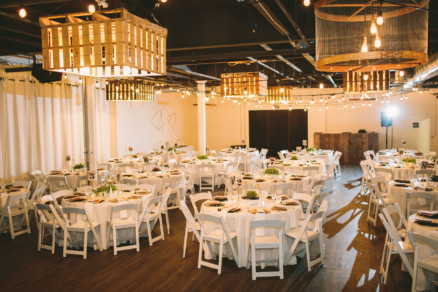 Modern Retro Warehouse Wedding – Photo by Let's Frolic Together