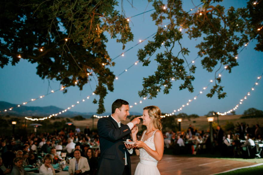 Glowing Gainey Vineyard Wedding – Photo by Let's Frolic Together