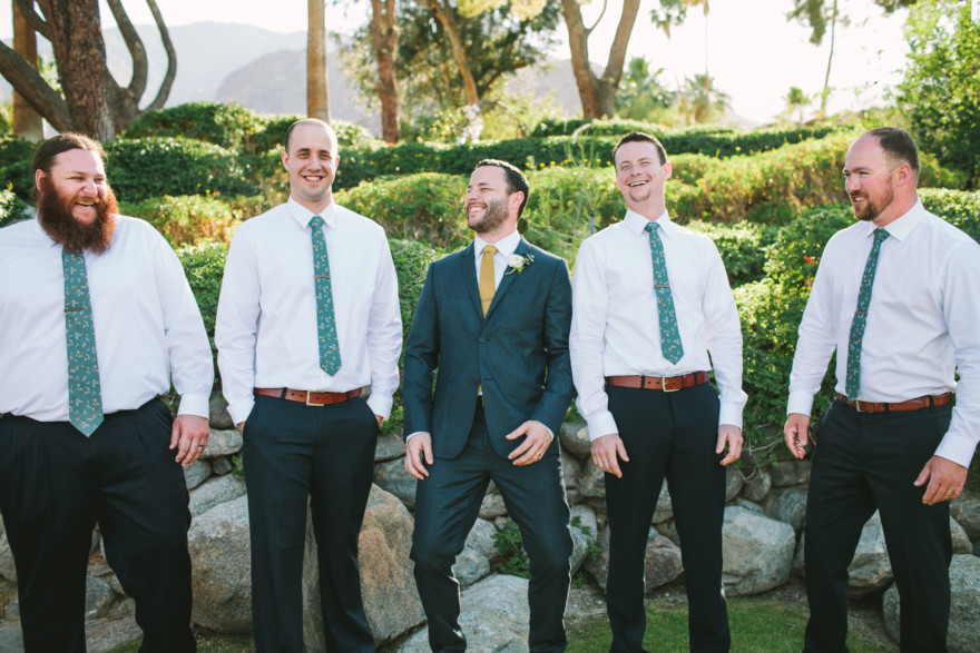 Rockin' Desert Palm Springs Wedding – Photo by Let's Frolic Together