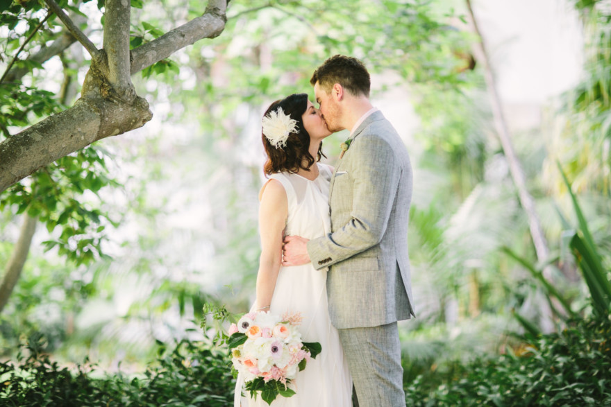 A Modern Santa Barbara Elopement – Photo by Let's Frolic Together