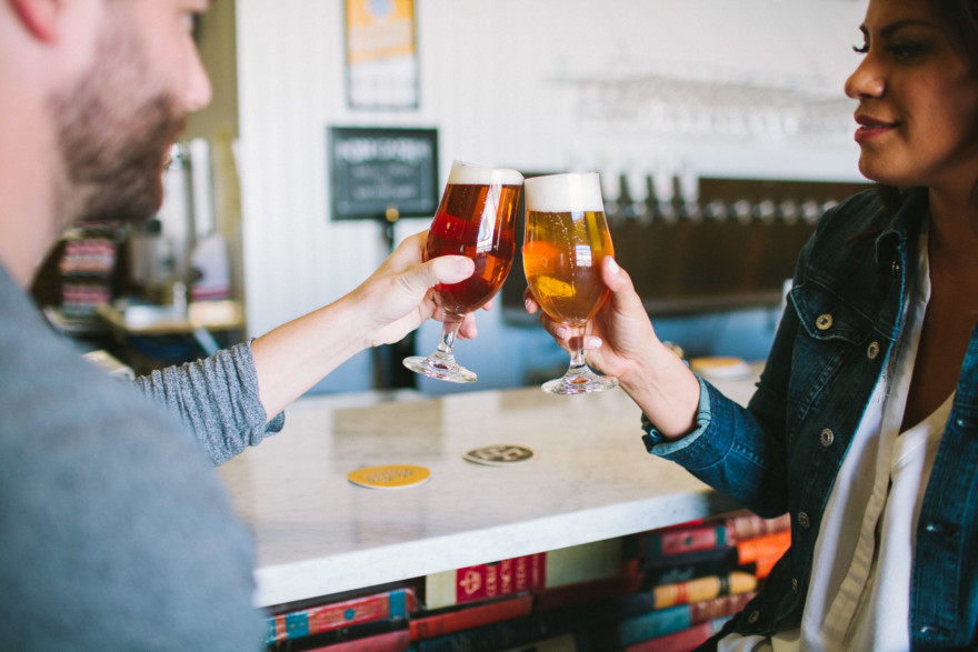A Woodland Beer Bonanza – Photo by Let's Frolic Together