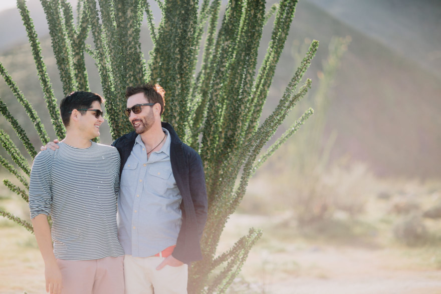 Love Wins in the Dreamy Desert – Photo by Let's Frolic Together