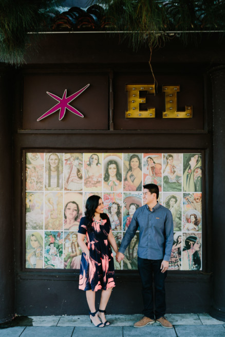 Sweet & Snuggly Urban Engagement – Photo by Let's Frolic Together