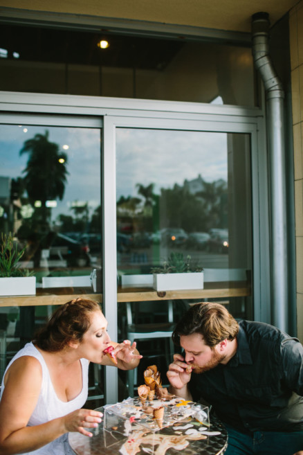 Love, Beer, Ice Cream & Puppy – Photo by Let's Frolic Together