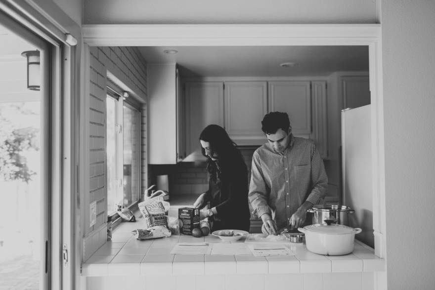 Snuggly Home Cooking – Photo by Let's Frolic Together