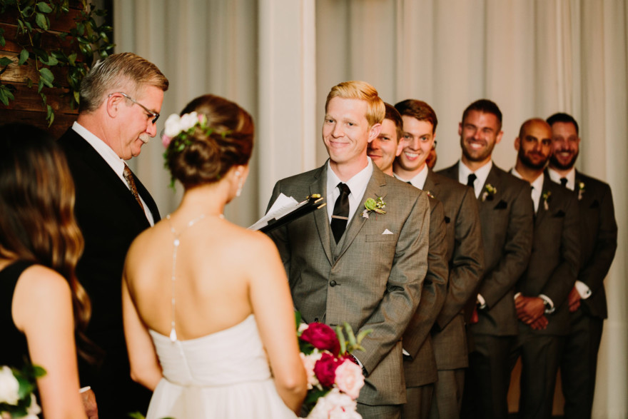 Charming Moniker Warehouse Wedding – Photo by Let's Frolic Together