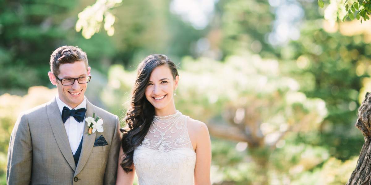 Bay Area Dreamy Garden Wedding – Photo by Let's Frolic Together