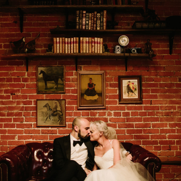 Tender Carondelet House Wedding