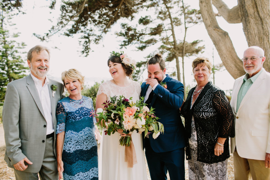 Laid-Back & Lovely Seaside Wedding – Photo by Let's Frolic Together