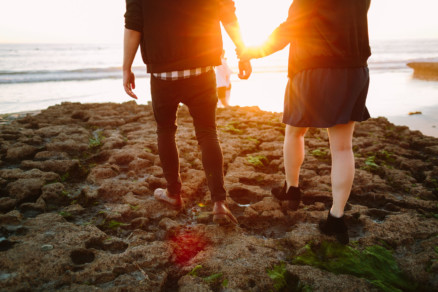 Tacos and Love by the Beach – Photo by Let's Frolic Together
