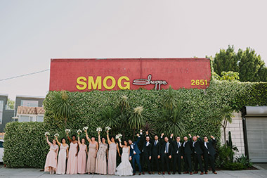Urban Jungle Smogshoppe Wedding