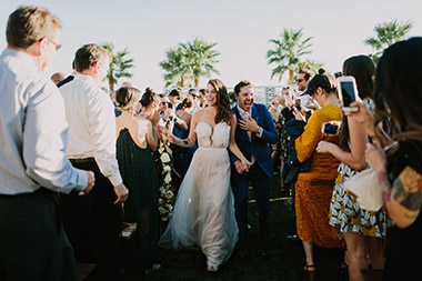 Desert Wedding at Lautner Compound