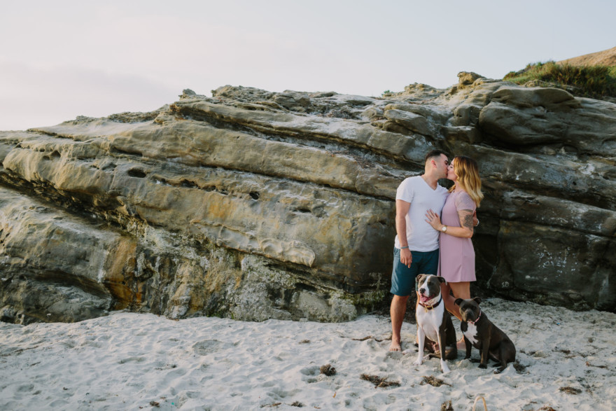 Dog Love and an ocean Adventure – Photo by Let's Frolic Together