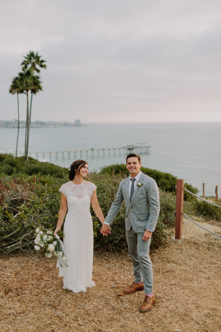 Laid Back Seaside Celebration – Photo by Let's Frolic Together