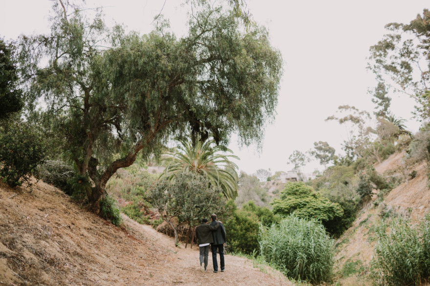 Intimate Heritage Park Engagement – Photo by Let's Frolic Together