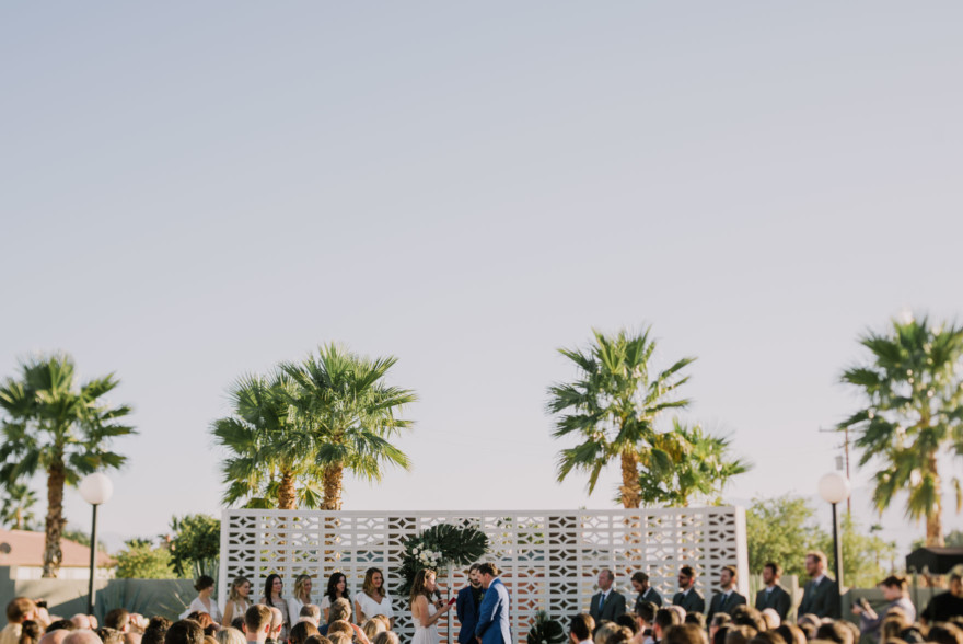 Lautner Compound Desert Bash – Photo by Let's Frolic Together