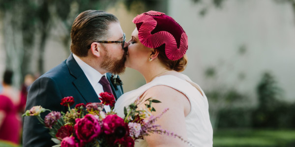 Forest Wedding at Green Flash – Photo by Let's Frolic Together