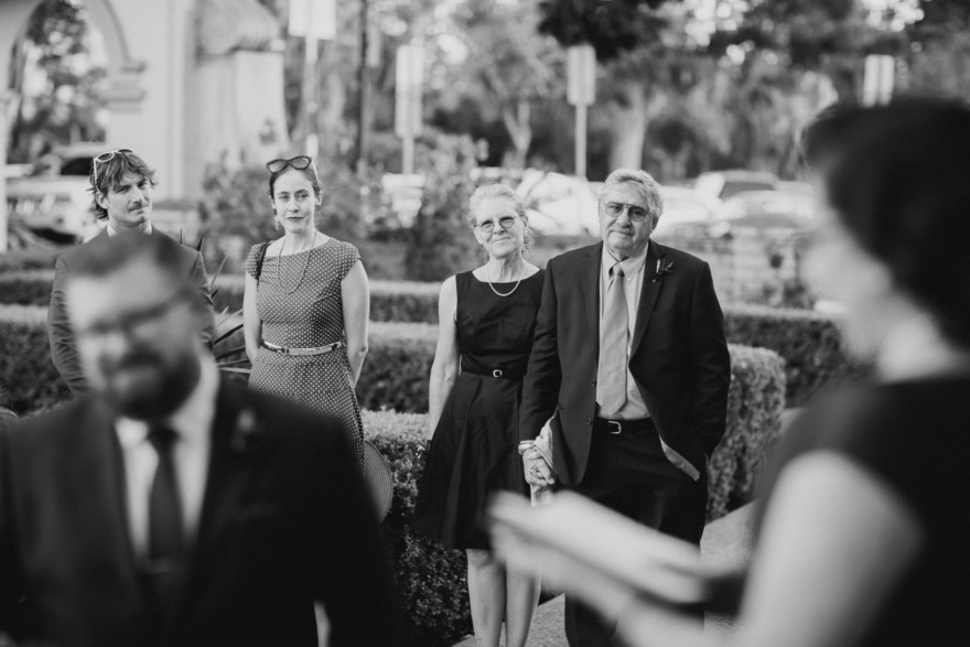 Vintage Balboa Park Intimate Wedding – Photo by Let's Frolic Together