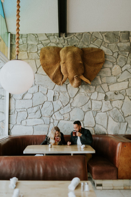 Desert Diners and Motorcycles – Photo by Let's Frolic Together
