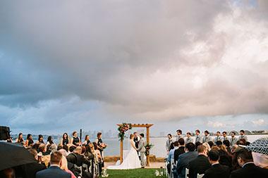 Wedding Rains at Admiral Kidd