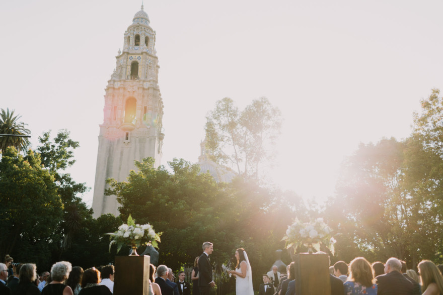 Art Garden Wedding at Balboa Park – Photo by Let's Frolic Together