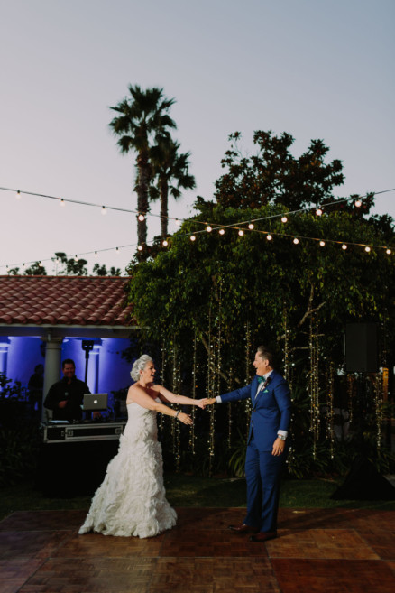 Ocean Views La Jolla Wedding – Photo by Let's Frolic Together