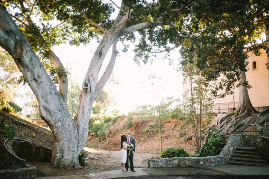 A Sunny San Diego Elopement – Photo by Let's Frolic Together
