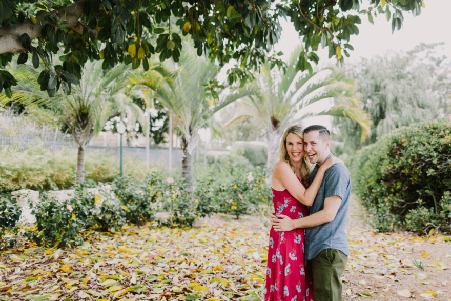 Balboa Park Tender Engagement – Photo by Let's Frolic Together