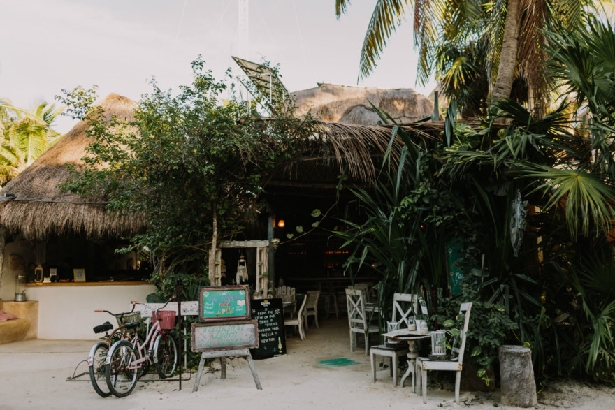 Seaside Color and Life in Tulum – Photo by Let's Frolic Together