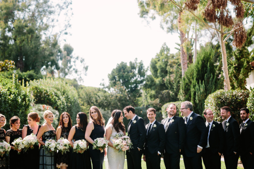 Love at the Estancia in La Jolla – Photo by Let's Frolic Together