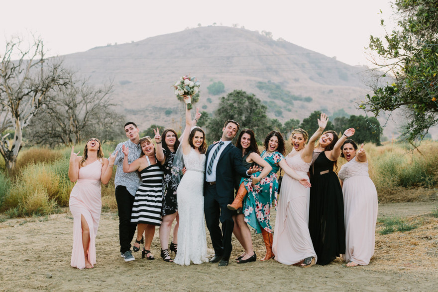 Disney-Inspired Winery Wedding – Photo by Let's Frolic Together