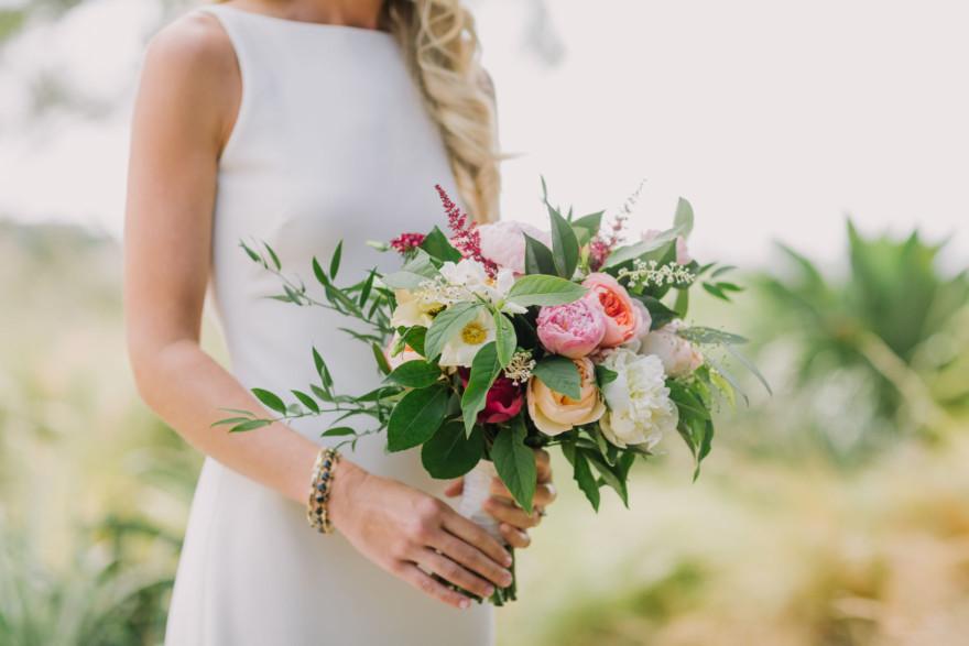 Santaluz Club Garden Wedding – Photo by Let's Frolic Together