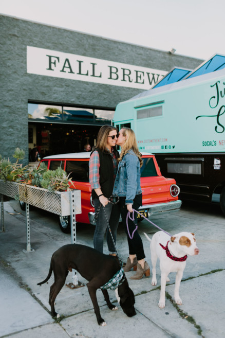 Brewing Up Some Puppy Love – Photo by Let's Frolic Together