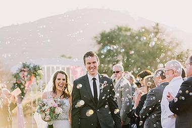 Sweet Hamilton Oaks Wedding
