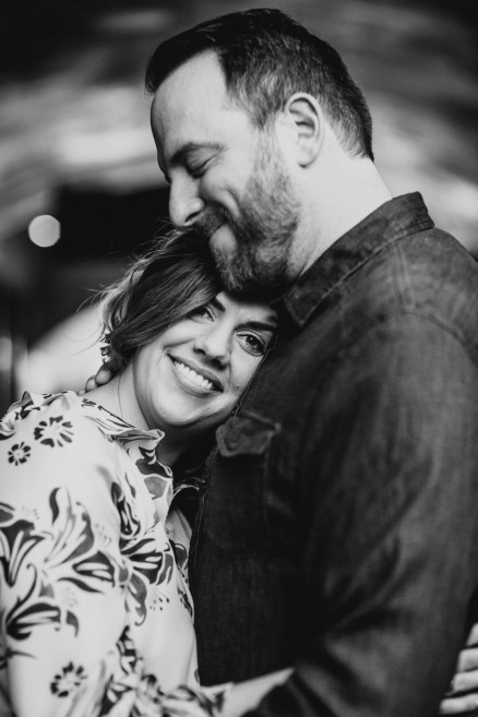 Old Town Ice Cream Engagement – Photo by Let's Frolic Together