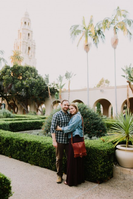 Golden Portaits at Balboa Park – Photo by Let's Frolic Together