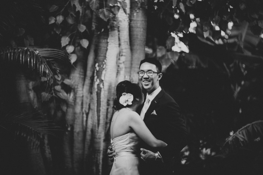 Misty Intimate Maui Wedding – Photo by Let's Frolic Together