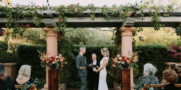 An Intimate Union at Rancho Valencia
