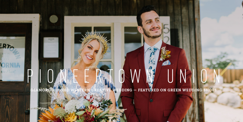 Boho Western Pioneertown Wedding