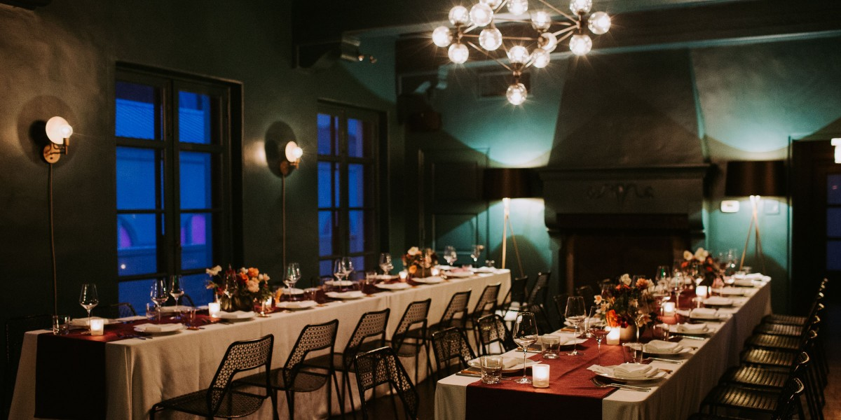 A Chic Rainy Day Union at Redbird – Photo by Let's Frolic Together