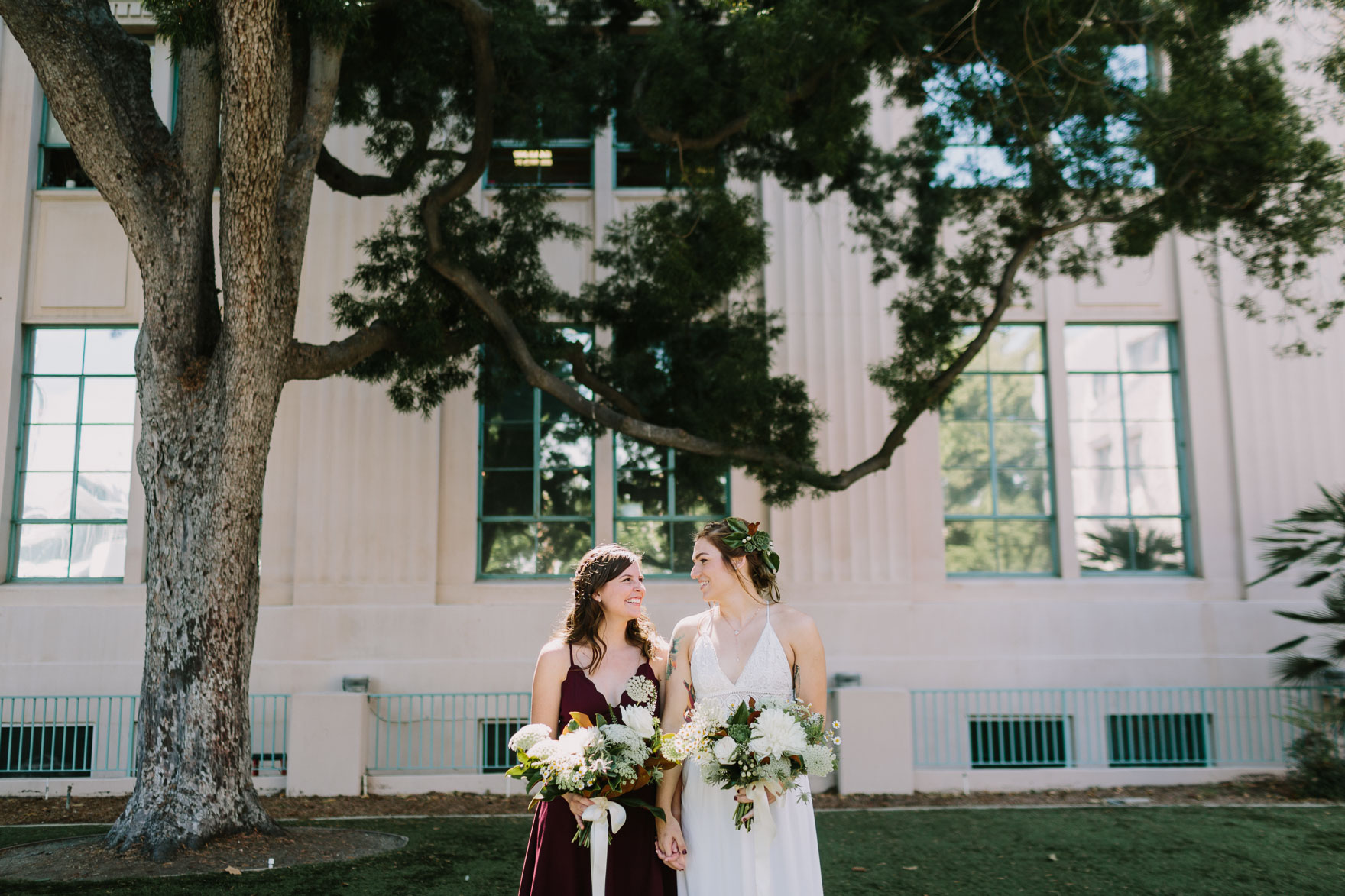 Dreamy LGBTQ San Diego Elopement – Photo by Let's Frolic Together