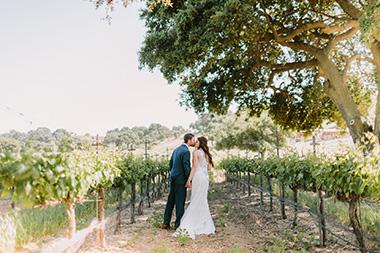 Backyard & Winery Wedding