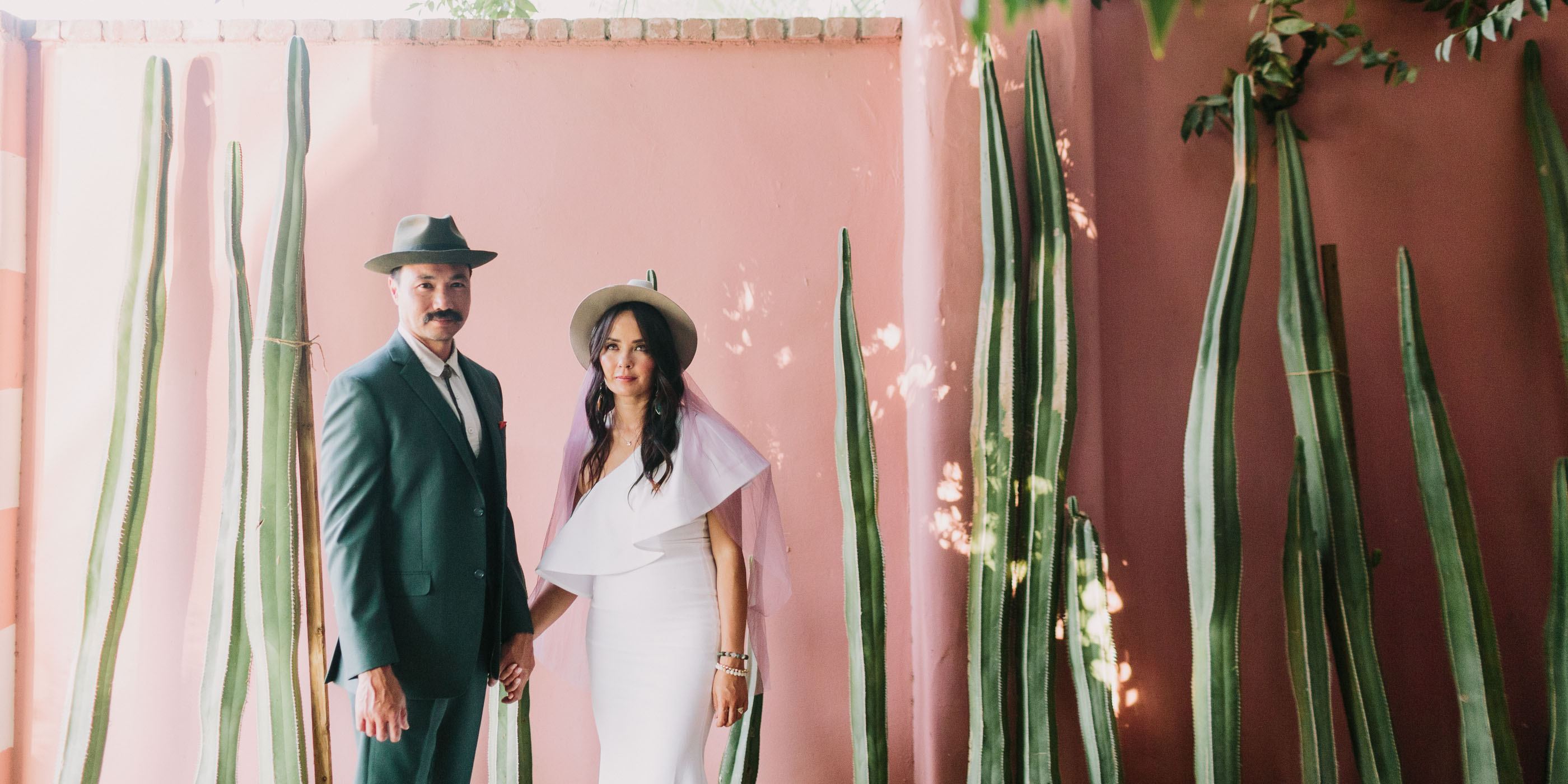 Dazzling Desert Vow Renewal – Photo by Let's Frolic Together