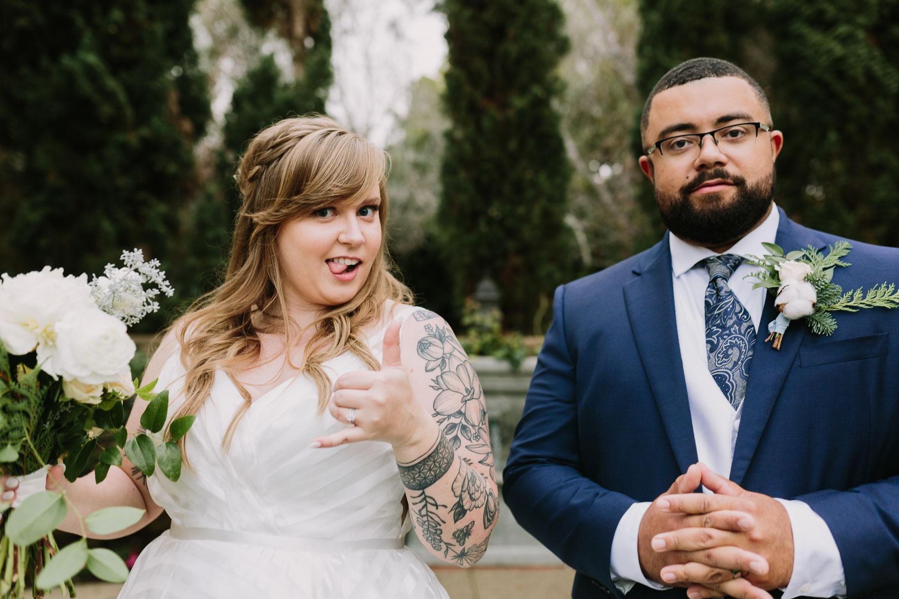Playful La Jolla Estancia Wedding – Photo by Let's Frolic Together